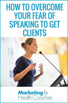 How To Overcome Your Fear Of Speaking To Get Clients Speaking, both in person and online is by the far the easiest way to get new client as a health coach. Overcome Your Fear of Speaking to Get Clients today. For Your Health, Health And Wellness, Health Tips, How To Get Clients, Building Self Esteem, Herbalife Nutrition, Online Coaching, Public Speaking, Angst