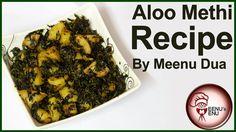 Aloo Methi Sabzi Recipe- How to make Aloo Methi Sabji