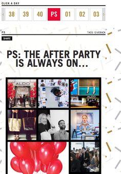 Aldo fête ses 40 ans d'existence - un calendrier plein de surprises - News-by-Andreea