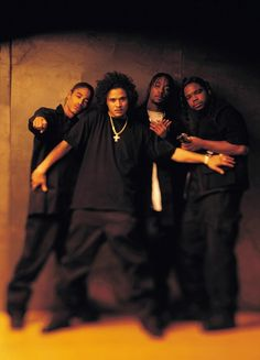 ♡Bone Thugs-n-Harmony, hip hop group that consists of rappers Flesh-n-Bone, Bizzy Bone, Krayzie Bone, & Wish Bone Hip Hop And R&b, Love N Hip Hop, 90s Hip Hop, Hip Hop Rap, Hip Hop Artists, Music Artists, Sierra Leone, Good Music, My Music