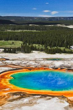 Grand Prismatic Spring, Midway Geyser Basin + Your Ultimate Guide to Yellowstone National Park - Best Day Hikes and Can't-Miss Sights (photo: James St John) // Local Adventurer
