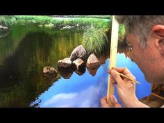 Tutorial #001 - How to Paint Grass with Michael James Smith - YouTube