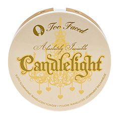 Makes your face glow without being glittery. Absolutely Invisible Candlelight Pressed Powder