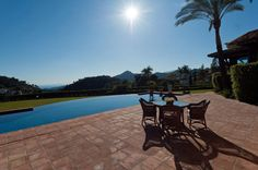 what a view from this exquisite villa in La Zagaleta, Spain
