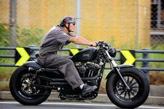 22 Exceptional Harley Davidson Motorbike Forty Eight - vintagetopia Softail Bobber, Hd Sportster, Custom Sportster, Custom Bobber, Custom Harleys, Custom Motorcycles, Custom Bikes, Harley Davidson 48, Harley Davidson Sportster 1200