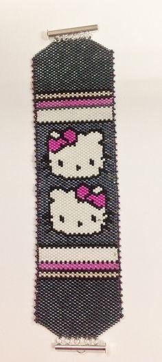 Hello Kitty Bracelet by BUNNY123 on Etsy, $75.00