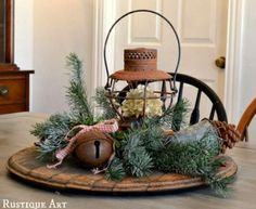 22 Country Christmas Decorating