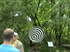 Rotating Disk - An Optical Illusion! - YouTube