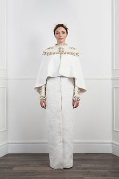 Coat made of antique pique material. Hand by VahanKhachatryan