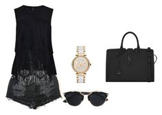 """""""Untitled #166"""" by aandreead ❤ liked on Polyvore featuring HIGH, Yves Saint Laurent, Christian Dior and Michael Kors"""
