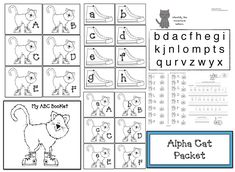 Do you have a cat-theme going? Do your kiddos enjoy Pete the Cat stories? If so, I think you'll like this alpha cat packet. Pre K Activities, Animal Activities, Color Activities, Summer Activities, Pete The Cat Games, Pete The Cats, Upper And Lowercase Letters, Lower Case Letters, Letter Assessment