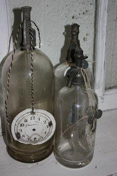 rustic glass relics