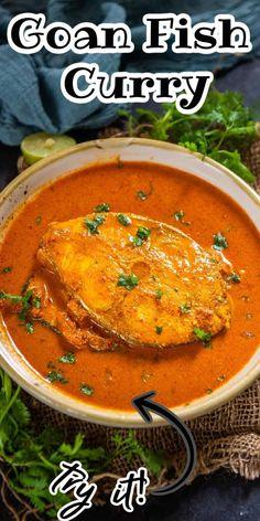 Spicy Recipes, Curry Recipes, Indian Food Recipes, Asian Recipes, Ethnic Recipes, Kerala Fish Curry, Indian Curry, Goan Fish Curry Recipe, Middle Eastern Recipes