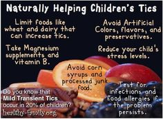 If you have recently noticed your child making strange facial or motor tics don't panic. Did you know that there are ways parents can be naturally helping children's tics while seeking doctor advice? These tricks may help alleviate symptoms for your suffering child within just a few days.