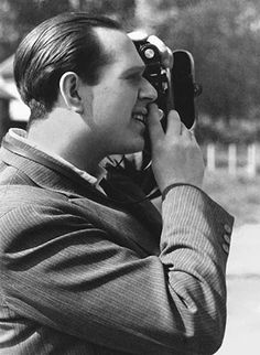 """""""Fred Stein (July 3, 1909 – September 27, 1967) was an early pioneer of the hand-held camera who became a gifted street photographer in Paris and New York after he was forced to flee his native Germany by the Nazi threat in the early 1930s. He explored the new creative possibilities of photography, capturing spontaneous scenes from life on the street. He was also a master portraitist, creating intimate images of many of the great personalities of the 20th century."""""""