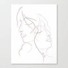 Authîel Minimalist Canvas Print by weivy Art Prints For Home, Minimalist Art, Ivy, Canvas Prints, Minimalism Art, Photo Canvas Prints, Hedera Helix
