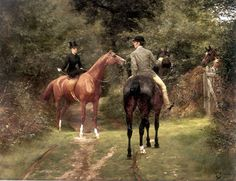 An Afternoon Ride With Lady Riding Sidesaddle Jean Richard Goubie Equestrian Art, Literature Art, Animal Art, Art, Hunting Art, Horse Art, Mediums Of Art, Beautiful Paintings, Animal Paintings