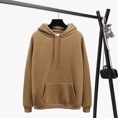 Oh Yes Letter Harajuku Print Pullover Thick Loose Women Hoodie Casual Tops 2018 Fsdhion Autumn Winter Warm Sweatshirt XXL Fleece Hoodie, Hooded Sweatshirts, Pullover, Tracksuit Tops, Loose Tops, Casual Tops, Casual Wear, Casual Attire, Hip Hop