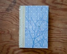 hand made journal // hard bound journal by ericmbaral on Etsy