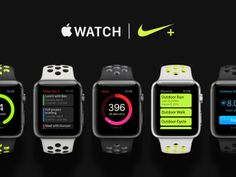 Top 5 Apple Watch Views designed by 👨🏻💻 com for Shakuro. Connect with them on Dribbble; Apple Watch Nike, Web Design, Mobile Ui, Interactive Design, All In One, Watches, Top, Wrist Watches, Design Web