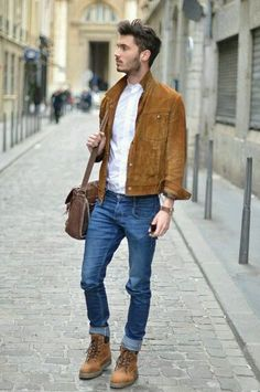 Blue & Brown | Mens Fashion Magazine