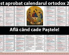 A fost aprobat calendarul ortodox Află când cade Paștele in - Romania News Periodic Table, Calendar, Health Fitness, Magic, Neurology, Periotic Table, Periodic Table Chart, Health And Wellness, Health And Fitness