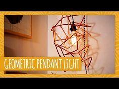DIY Geometric Pendant Light - HGTV Handmade