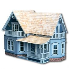 Magnolia Dollhouse Kit - 912946 - Overstock - Great Deals on Dollhouses - Mobile