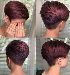 Thin Hair Cuts, Short Hair Cuts For Women, Short Hairstyles For Women, Diy Hairstyles, Hairstyles 2018, Everyday Hairstyles, Short Cuts, Wedding Hairstyles, Straight Hair