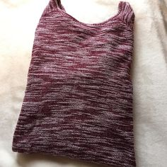 NWOT Burgundy Long Sleeve Top NWOT- burgundy long sleeve top that is a little longer than I expected so it would be perfect with leggings! It is a nice knit material Old Navy Tops Tees - Long Sleeve