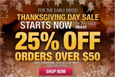 NBA Store Thanksgiving Day Sale - 25% Off