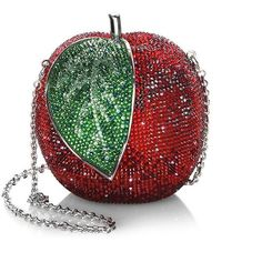 Judith Leiber Couture New Apple Crystal Handbag Judith Leiber, Red Purses, Purses And Handbags, Bags Online Shopping, Romantic Outfit, Red Handbag, Disney Jewelry, Beaded Ornaments, Red Bags