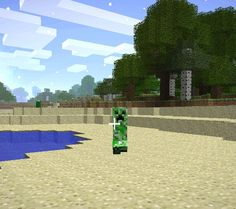 The Top 8 Monsters in Minecraft (And How to Survive Them!): Creeper