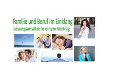 Vortrag über Familie und Beruf im Einklang www.mammaconnect.ch