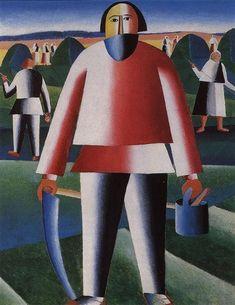 Haymaking, 1929 - Kazimir Malevich