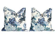 Schumacher Chiang Mai Dragon Pillows, Pr