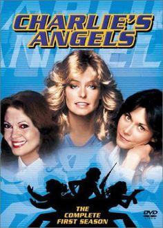 Charlie's Angels: Season 1 ~ original Angels Farrah Fawcett, Kate Jackson and Jaclyn Smith 80 Tv Shows, Old Shows, Great Tv Shows, Kate Jackson, Charlies Angels, Serie Tv Francaise, Mejores Series Tv, Capas Dvd, Movie Posters