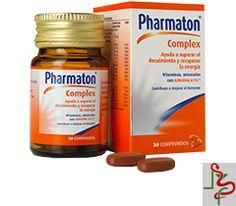 8,95€ PVP - Consigue #PharmatonComplex a este precio tan especial que tenemos para ti. http://www.farmaciarabel.com/vitaminas/pharmaton-complex-30-comprimidos-recubiertos