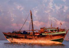 Доу лодка-2370-дерево