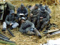 """...liebe Grüsse an deine Kameraden..."" (""...loving greetings 2 your comrades..."") 1/35 scale. By Erik Gideonse. #diorama"