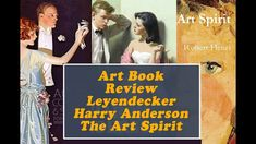 Book Reviews, Leyendecker, Harry Anderson and Robert Henri