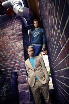Mario Götze and Marco Reus in German GQ