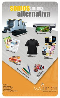 Pieza publicitaria1/4 de oficio. Maj design  grafica publicitaria
