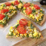Pizza Vegana Receita Fácil