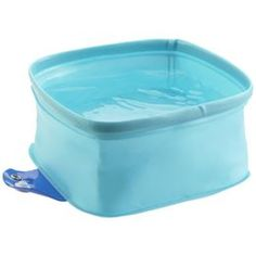 Fido has a recommend daily allowance of water just like you do, so make sure he gets all he needs with The Watering Hole Dog Bowl. This waterproof, collapsible bowl fits nicely in a pocket or handbag, and an attached loop easily slips onto a leash. It's perfect for hiking, road trips, camping or boating. Plus, it dries quickly so it's ready to go when you are