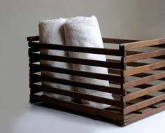 Lovely Rustic Wooden Egg Crate. Beautiful craftsmanship