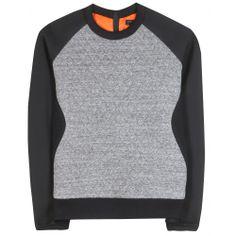 mytheresa.com - Flight jersey sweatshirt - Luxury Fashion for Women / Designer clothing, shoes, bags