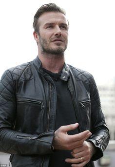 David Beckham. via MailOnline