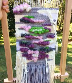 2016, the year I started weaving and discovered a weaving wonderland out there I didn't realize existed! So many creative, talented (and very cool) people working with their hands to create colourful, textural works that are exciting and inspirational to me. I have always enjoyed working with my hands and weaving and macrame have given me an outlet which I hope will continue so I can better my skills. Here's my last weave for the year, just finished while on hols. Maybe 2017, I will learn to…