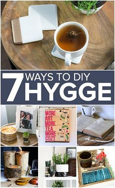 DecoArt - 7 Ways to DIY Hygge Into Your Lifestyle #decoartprojects